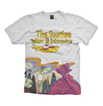 T-shirt The Beatles: Yellow Sub Logo & Scenery