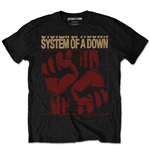 T-shirt System of a Down: Fisticuffs