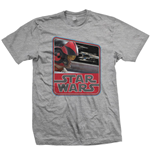 T-shirt Star Wars: Episode VII Dameron Vintage