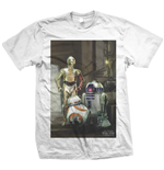 T-shirt Star Wars: Three Droids
