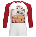 T-shirt Star Wars Manches Longues Raglan: Storm Troopers