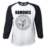 T-shirt Manches Longues Ramones: Presidential Seal (L)