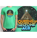 T-shirt Queens of the Stone Age: Space Mountain