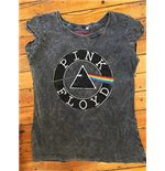 T-shirt Pink Floyd: Logo cercle Vitage