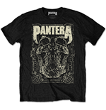 T-shirt Pantera: 101 Proof Skull