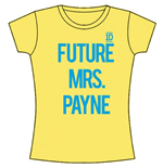 T-shirt One Direction: Future Mrs Payne