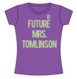 T-shirt One Direction: Future Mrs Tomlinson