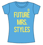 T-shirt One Direction: Future Mrs Styles