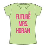T-shirt One Direction: Future Mrs Horan