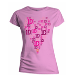 T-shirt One Direction: Heart Logo