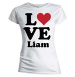 T-shirt One Direction: Love Liam