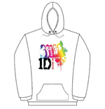 Sweat à Capuche One Direction: Rainbow Group