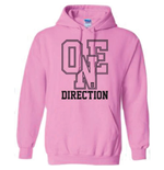 Sweat à Capuche One Direction: Athletic Logo