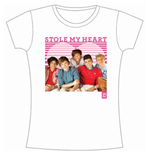 T-shirt One Direction: 1D Stole My Heart