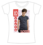 T-shirt One Direction: 1D Louis Symbol Field