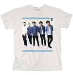 T-shirt One Direction: College Wreath