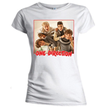 T-shirt One Direction: Band Red Border