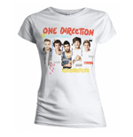 T-shirt One Direction: Individual Shots