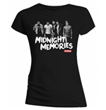 T-shirt One Direction: Midnight Memories