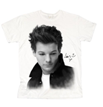 T-shirt One Direction: Louis Solo B&W