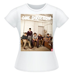 T-shirt One Direction: Band Lounge Colour
