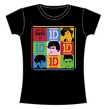 T-shirt One Direction: 9 Squares