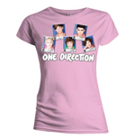 T-shirt One Direction: Polaroid