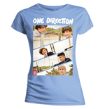 T-shirt One Direction: Band Sliced