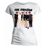 T-shirt One Direction - Flowers