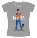 T-shirt One Direction: Louis Standing Pose