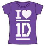T-shirt One Direction: I Love 1D