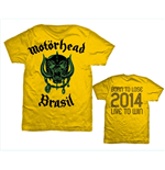 T-shirt Motorhead: World Cup Brazil