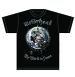 T-shirt Motorhead: The World is your Album