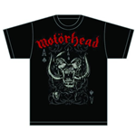 T-shirt Motorhead: Playing Card