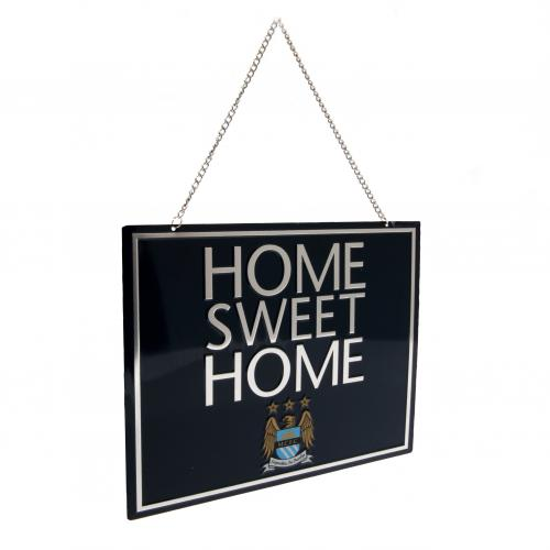 Plaque Manchester City FC - Home Sweet Home