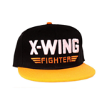 Casquette Star Wars VII: Le Réveil de la Force X-Wing Fighter Noir/Orange
