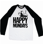 T-shirt Manches Longues Happy Mondays: Logo