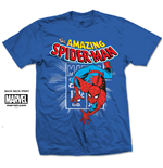 T-shirt Spiderman Spidey Stamp