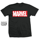 T-shirt Marvel Comics: Marvel Box Logo