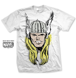 T-shirt Marvel Comics: Thor Big Head Distressed