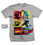 T-shirt Marvel Comics: Marvel Montage