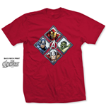 T-shirt Marvel Comics: Diamond Characters