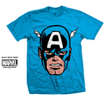 T-shirt Marvel Comics: Captain America Big Head
