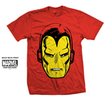 T-shirt Marvel Comics: Iron Man Big Head