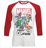 T-shirt Manches Longues Marvel Comics: Marvel Montage
