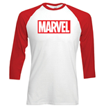 T-shirt Manches Longues Marvel Comics: Logo Marvel