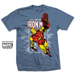 T-shirt Marvel Comics: Iron Man Stamp