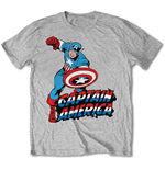 T-shirt Marvel Comics: Simple Captain America