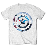 T-shirt Marvel Comics: Captain America Knock-out