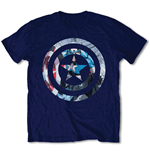 T-shirt Marvel Comics: Captain America Knock Out